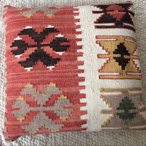 🍃Rare Pottery Barn Kilim Pillow Case